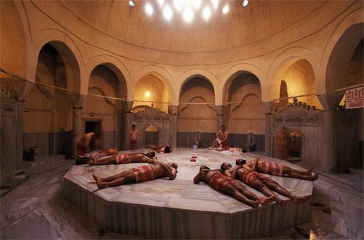Hammam o ba o turco ritual de higiene y punto de reuni n - El bano turco ...