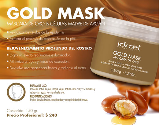 GOLD MASK de IDRAET
