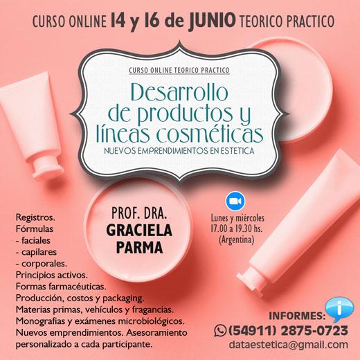 Desarrollo de productos y líneas cosméticas