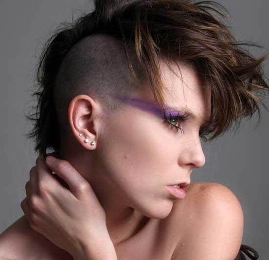Peinado Mohicano Mohawk Cosmetologascom Belleza Y