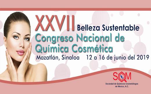 XXVII Congreso Nacional de Química Cosmética